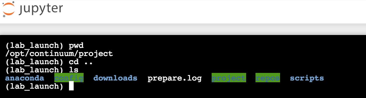 Developing a project — Anaconda Platform 5 3 1 documentation